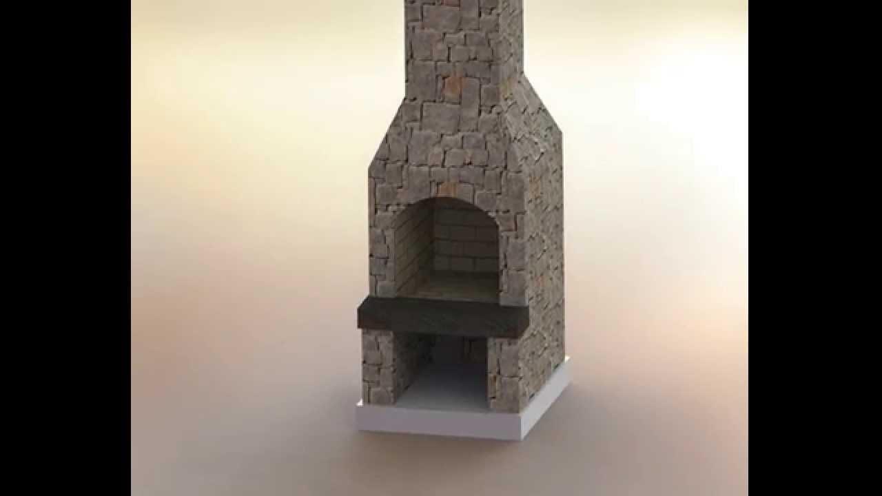 stone age fireplace kit assembly youtube