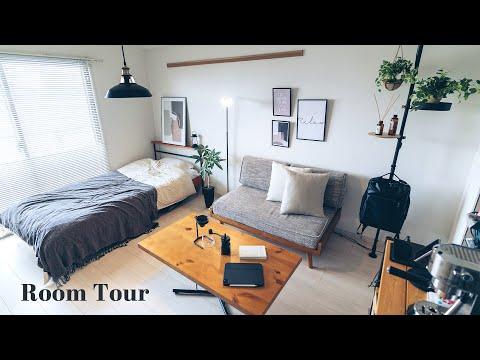 【ルームツアー】清潔感のあるスッキリとした男子部屋 月間30万PVのブログを運営するWebディレクターさん 買ってよかった物・QOLの上がる物多数・1K10畳 Room tour