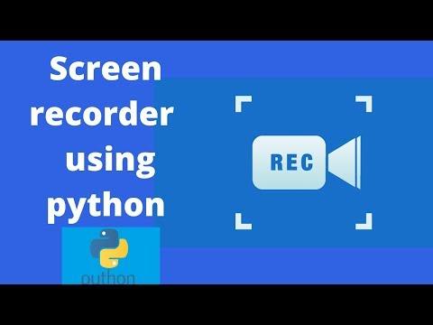 Screen Recorder using Python