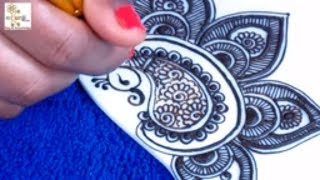 New Style Mehndi Design for Hands | Very Pretty Mehndi Design @ ekunji #112 मेहँदी डिज़ाइन