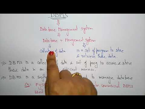 dbms tutorial for beginners - YouTube