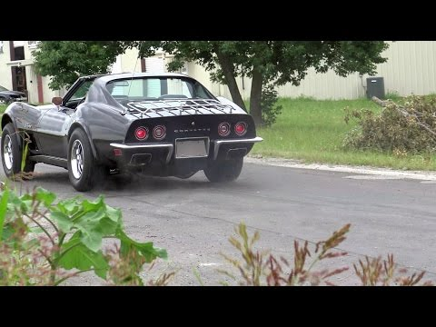 1973 Chevy Corvette 454 C3 Stingray Test Drive With Samspace81