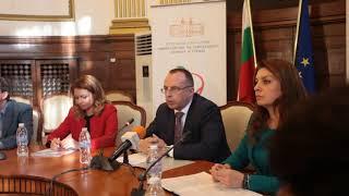 Румен Порожанов -  пресконференция - Министерство на земеделието храните и горите 2018 г