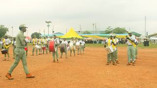 FCT ABUJA MARSHAL BAND (NYSC) PERFORMANCE AT 2017 BATCH A - 2