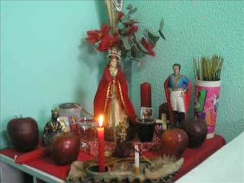En honor a Changó y Yemayá