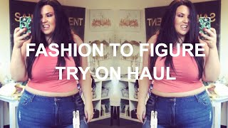 PLUS SIZE FASHION TRY ON HAUL | Chatty FASHION TO FIGURE - TONS of styling tips!