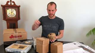 Unboxing -- Mojotone 5E3 Tweed Deluxe Style Amplifier Kit