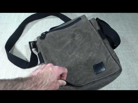 Blackhawk Diversion Wax Canvas Satchel First Impressions Review