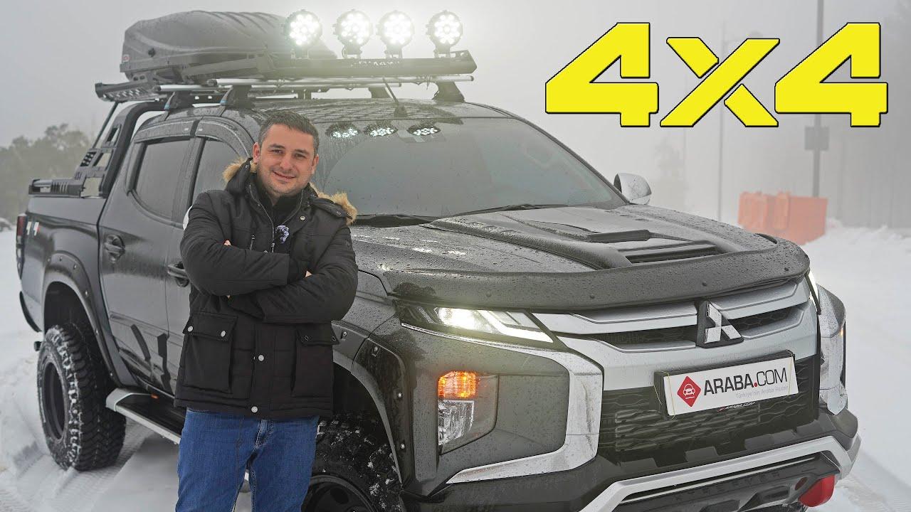 Yeni Mitsubishi L200 4x4 Ä°nceleme | Kar Testi