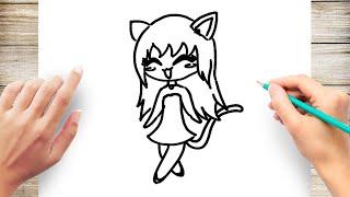 How to Draw Anime Neko