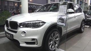 2016 BMW X5 xDrive30d (F15). Обзор (интерьер, экстерьер, двигатель).