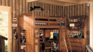 Lea 302-964r Loft Bed From Jackson Creek