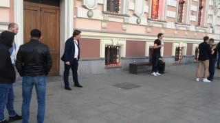 Драка ! Москва , мажоры , танцы , юмор, смех, месси, Роналдо, футбол , приколы , нокауты, отключил !