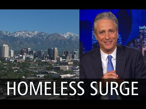 Did The Daily Show Flood Salt Lake With Homeless?