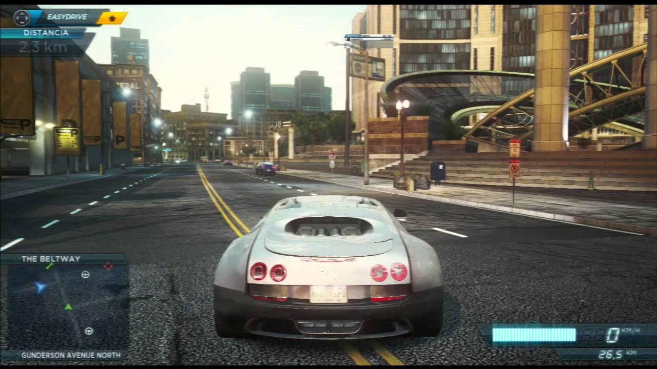 Need For Speed Most Wanted El Coche De Hercules Youtube