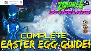 """ZOMBIES IN SPACELAND"" EASTER EGG GUIDE! – COMPLETE EASTER EGG TUTORIAL! (Infinite Warfare Zombies)"