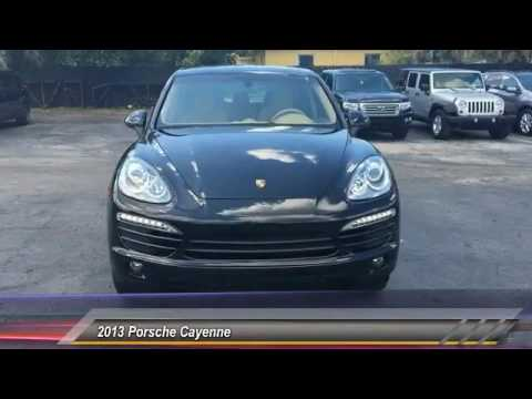 2013 Porsche Cayenne Hollywood FL 2094AT