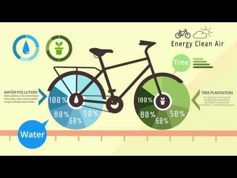Animate Infographics| Motion Design 2016 | Water & Tree | Energy Clean Air |