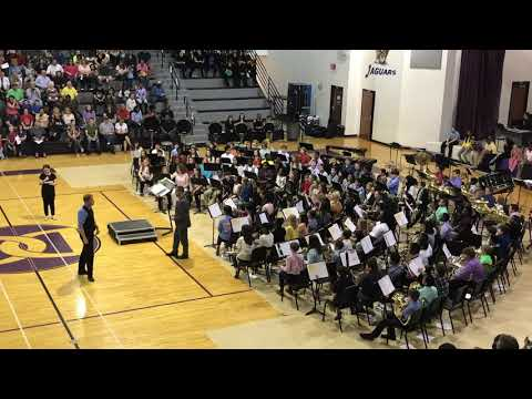 Desoto Central Middle School 6th Grade Band 2019 - American Spirit March