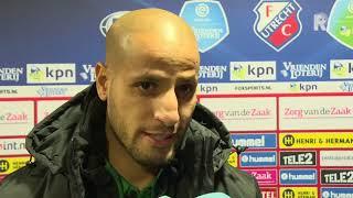 karim el ahmadi na de afgelaste wedstrijd tegen fc utrecht