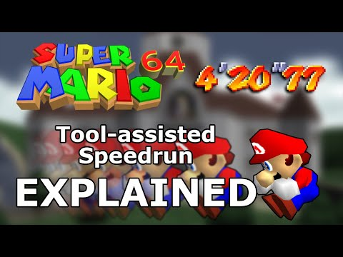 Super Mario 64 Tool-assisted Speedrun World Record Explained