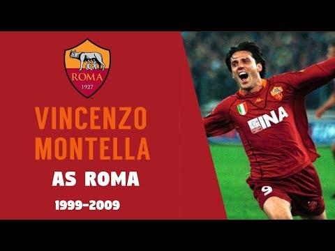 Vincenzo Montella en la Roma. Años 1999-2009