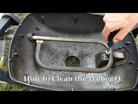 Clean Weber Q1000 and Test for Leaks