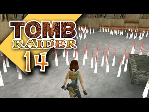 Tomb Raider 1 #014 [GER] - Fallen über Fallen - Let's Retro