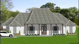 The Acadian Symmetry 2586-3575 Video Tour - Stock House Plan
