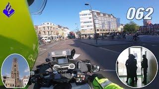 Politie Utrecht, dienst in de binnenstad. NR. 62.
