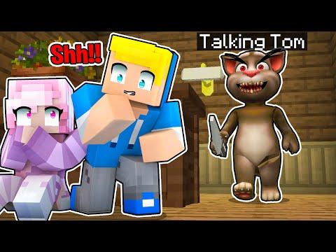 SCAPPA DA TALKING TOM Su Minecraft!