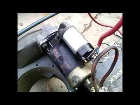 VW Baja Bug Starter Solenoid Replacet Bosch - YouTube