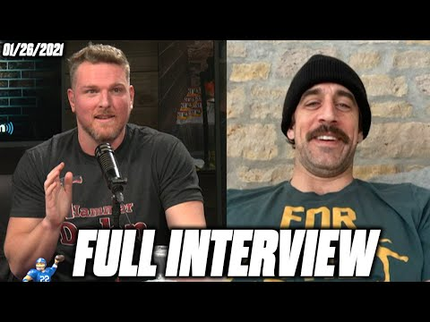 Pat McAfee & Aaron Rodgers Talk Loss To The Buccaneers, Secrets To This Season's Success, And More