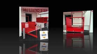 DWS - Table élévatrice de quai (Monte-charges, élévateur)