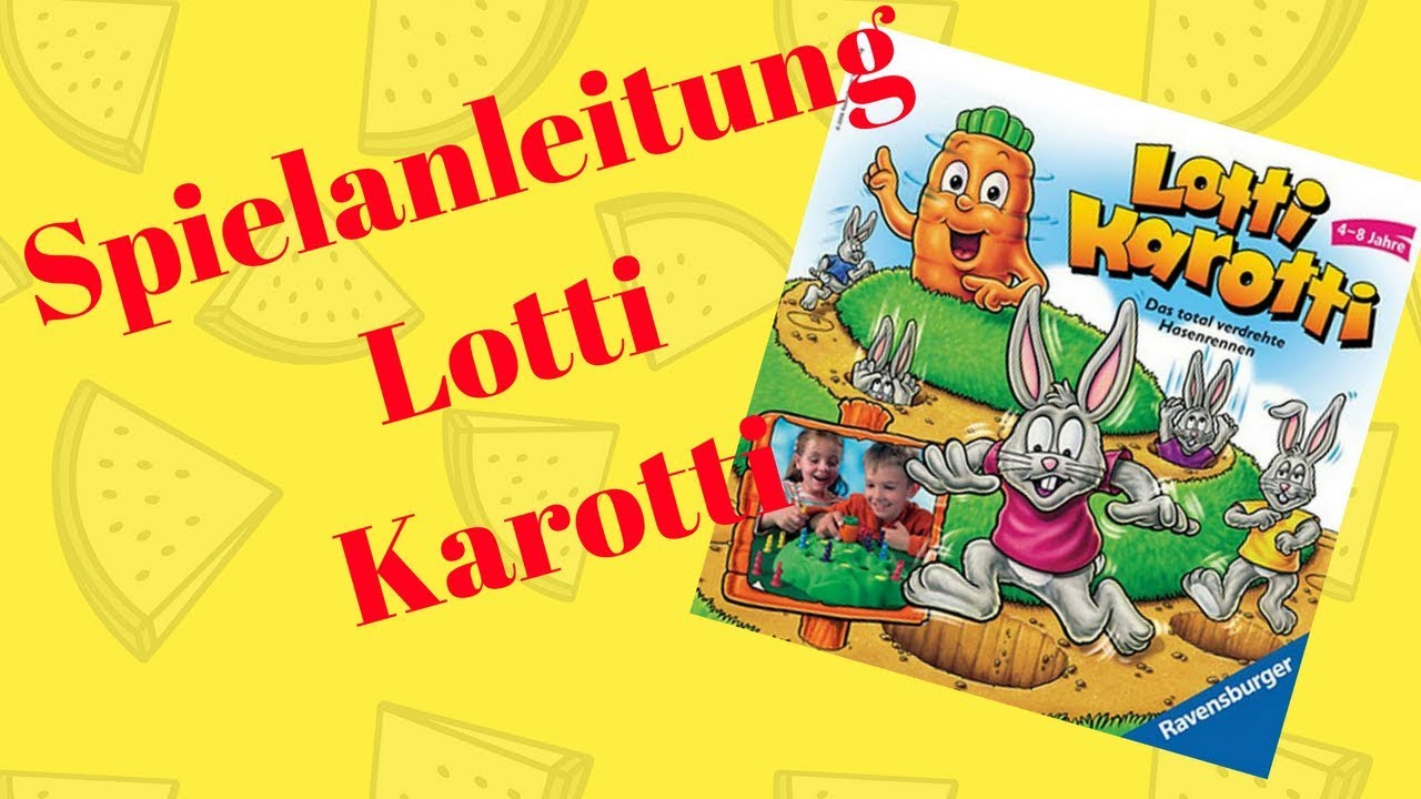 Spielanleitung Lotti Karotti