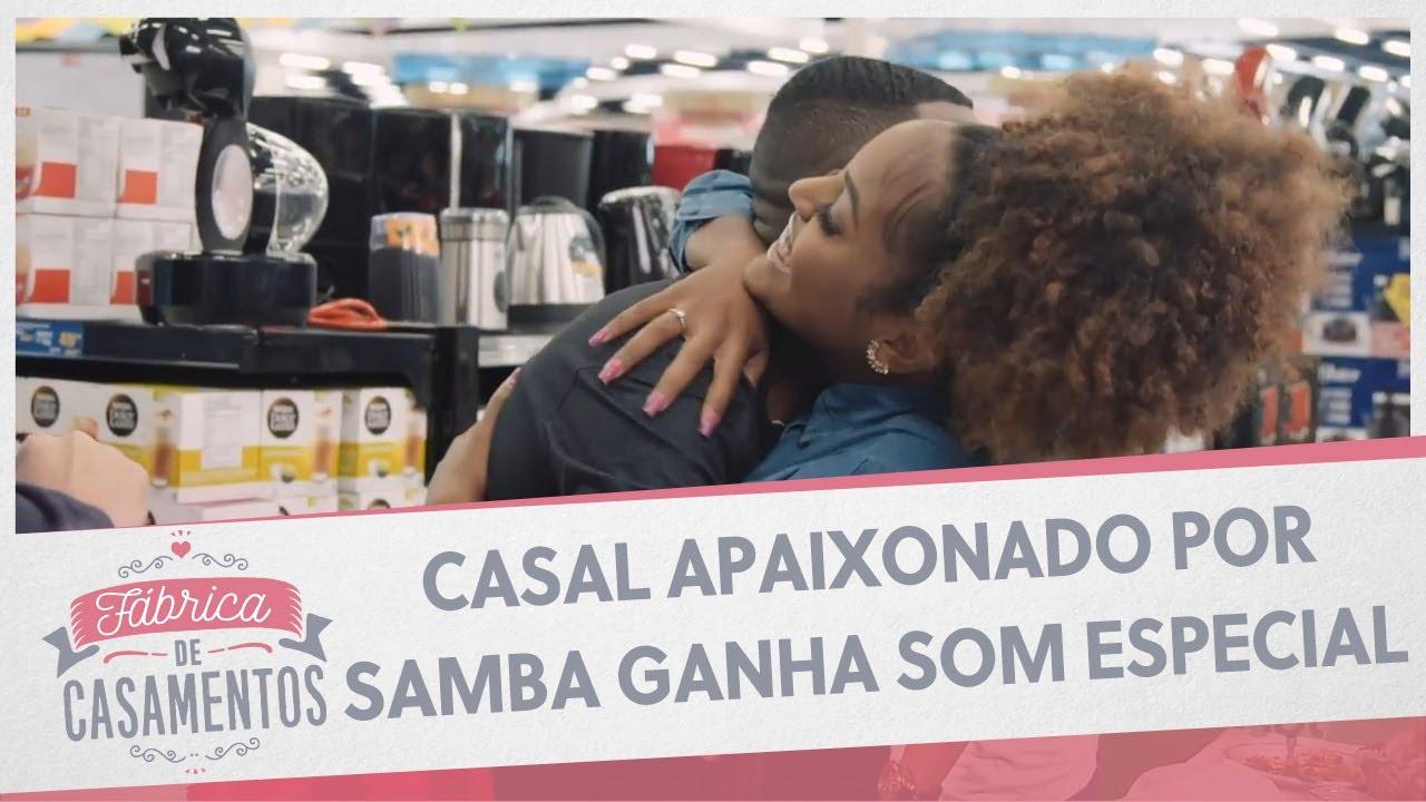 Casal apaixonado por samba ganha som especial | Fábrica de Casamentos - 08/08/20