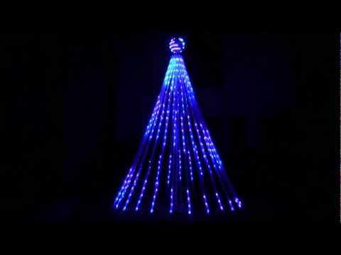 Cosmic Color Pixel Tree Test Demo Sequence Christmas