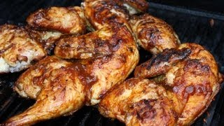 Caribbean Tamarind Grilled Chicken.