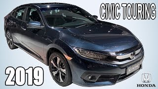 HONDA CIVIC Touring 2019 (NOVA COR?!) | Review Automotivo