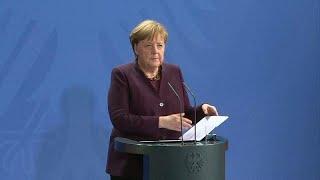 """اعتداء ألمانيا: ميركل """"تندد"""" وماكرون يعبر عن""""حزنه الشديد"""" وفون ديرلايين تشعر""""بصدمة عميقة""""…"""