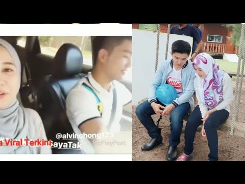 Sweet Habis!! Merah Gilerr Muka Alvin Chong Malu Bila Emma Maembong Tanya Awak Suka Saya Tak!!