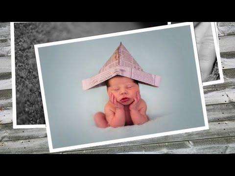 Oliver James' Newborn Photography  5 Days Old