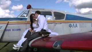 На крыльях  Любви (полёт жениха и невесты на ЯК -18)