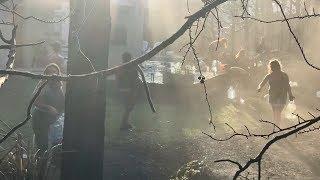 Villa Gesell Incendio Emocionante Trabajo de los Geselinos Verano 2020