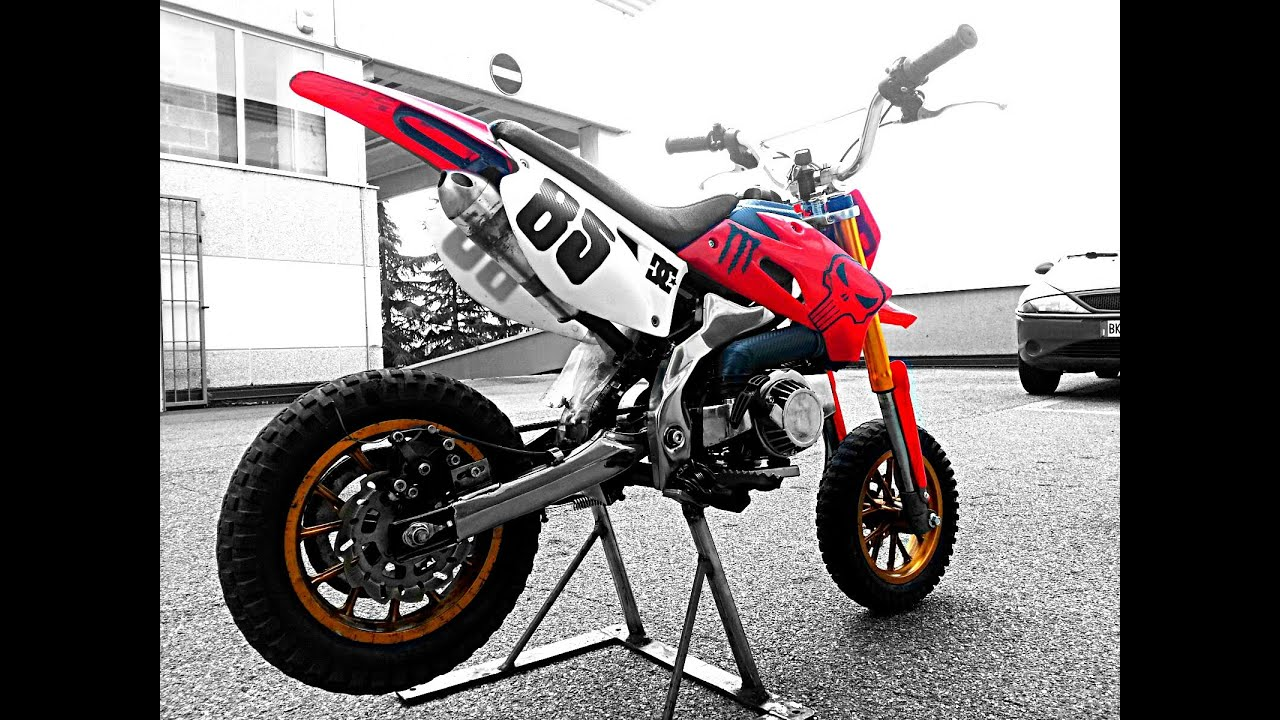 Pocket Bike Kxd Tuning Big Bore 5 Travasi Mini Moto Youtube