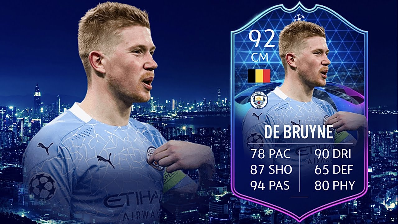 FIFA 21: KEVIN DE BRUYNE 92 TOTGS PLAYER REVIEW I FIFA 21 ULTIMATE TEAM -  YouTube