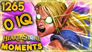 This Is THE DEFINITION OF A 0 IQ PLAY!! | Hearthstone Daily Moments Ep.1265
