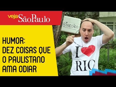 HUMOR: Dez coisas que o paulistano ama odiar