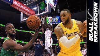 Kemba Walker & LeBron James Headline Top NBA Highlights Of The Night