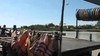 Hoian Bike Tour Boat Trip On Hoian River To Kim Bong Village_part1.flv